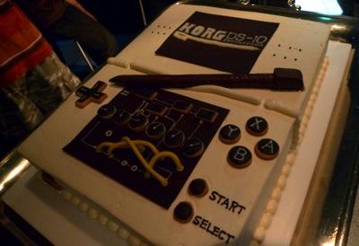 DS-10 お誕生ケーキ